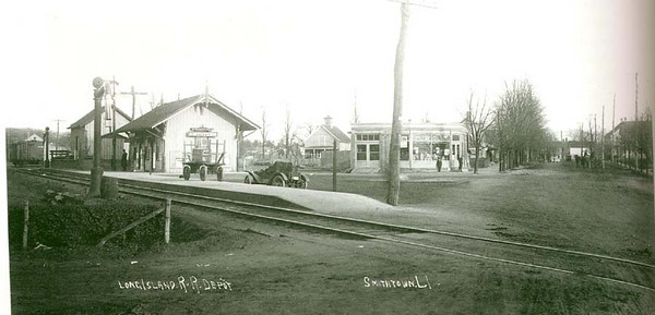 Smithtown New York Railroad Station - Early 1900s