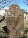 Terry Cemetery Orient - Grave marker 1775