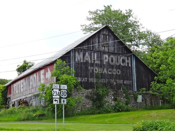 Mail Pouch Tobacco - Totem Pole Playhouse Barn
