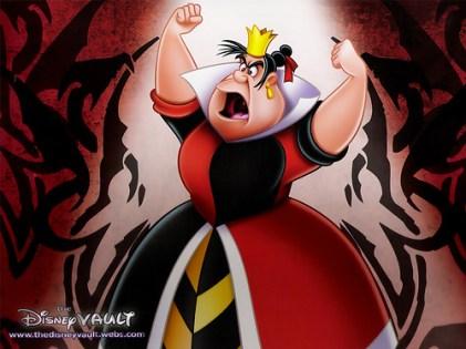 Queen of Hearts, Alice in Wonderland