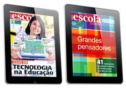 A reedição de Grandes Pensadores em formato digital e o Guia de Tecnologia na Educação