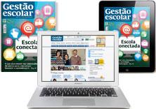 Conteúdo para gestores e coordenadores pedagógicos em novas plataformas: revista digital e site exclusivo