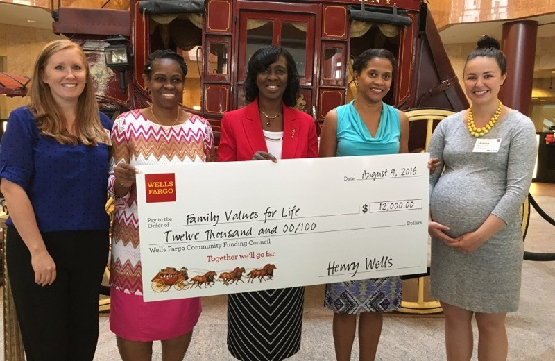 Family Values For Life | Donation | Wells Fargo