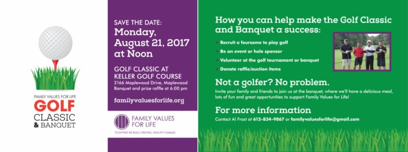 2-17 Family Values For Life Golf Classic