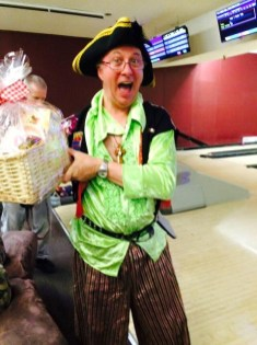 """Roger Hussen wins the """"Tackiest Costume"""" prize!"""