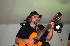 Lead guitar and vocals! Adrian Duncan