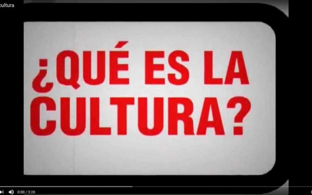 ¿Qué es la cultura?