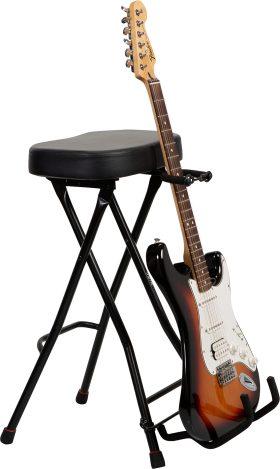 Gator GFW-GTRSTOOL Guitar Stool with Guitar Stand