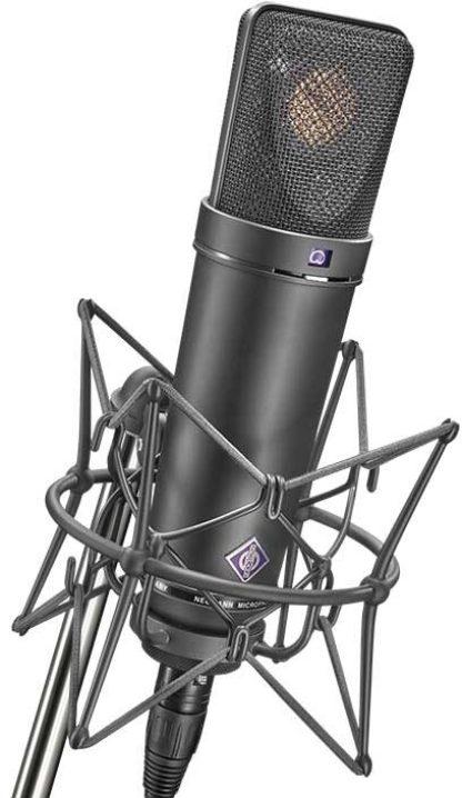 Directional Mics - Neumann U87Ai Large-Diaphragm Condenser Microphone