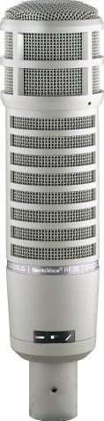 Best microphone for voice over Electro-Voice RE20 Classic Cardioid Dynamic