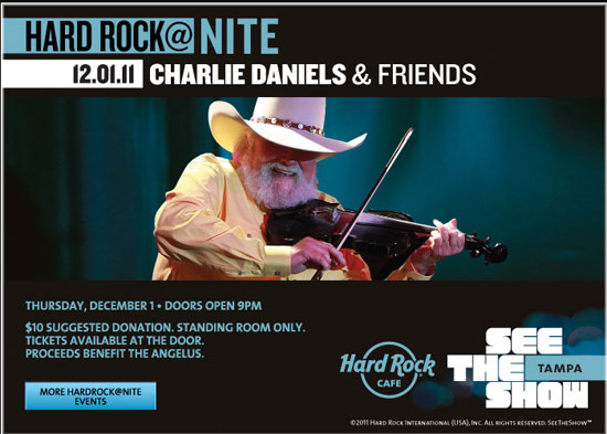 21st Annual Charlie Daniels/Seminole Hard Rock Hotel & Casino Golf Classic