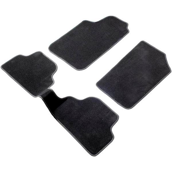 3 tapis avec pont sur mesure pour toyota auris des 01 13 haut de gamme