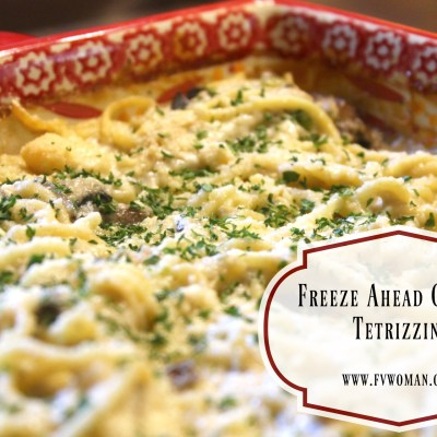 Freeze Ahead Chicken Tetrizzini