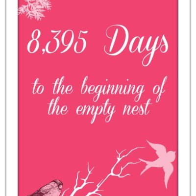 8,395 Days to the beginning of the Empty Nest