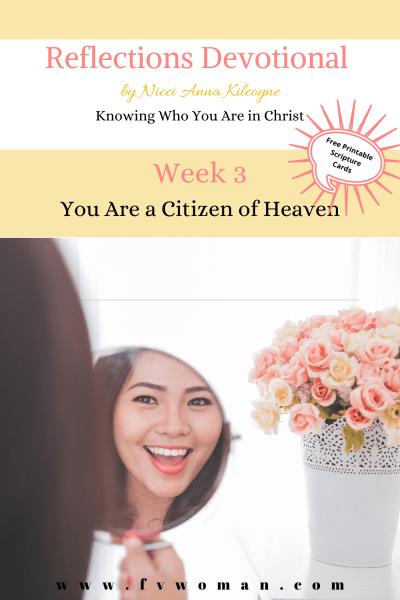 citizen of heaven