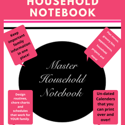 FVWoman's Master Household Notebook