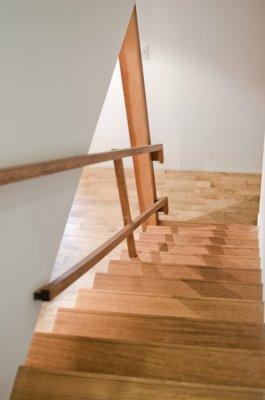 アンドの家 階段見下ろし。