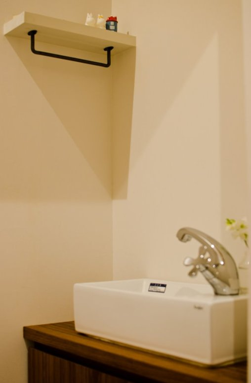 アンドの家 トイレの手洗いです