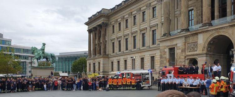 Bienroder Gruppen beim Leistungsvergleich und Tag der Feuerwehr