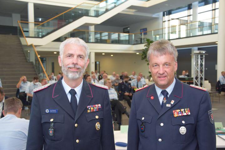 Stadtbrandmeister Ingo Schönbach, Erster Stellvertretender Stadtbrandmeister Stephan Kadereit