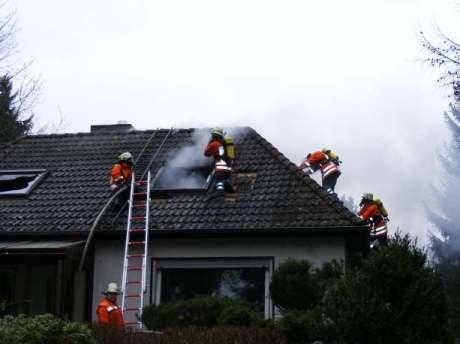 Einsatz 24.02.2008 - Hoher Sachschaden bei Wohnhausbrand