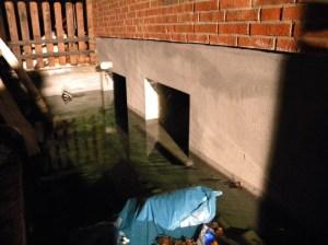 Hilfeleistung Wasserrohrbruch