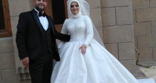 تهنة هبة عبد الخالق ومحمد أيمن بالزواج السعيد