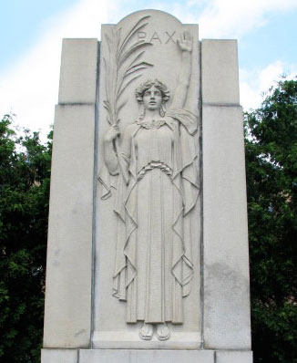 World War Memorial, Dedham, MA, 1932