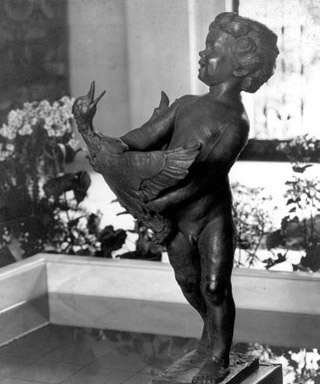 Duck Boy, about 1924