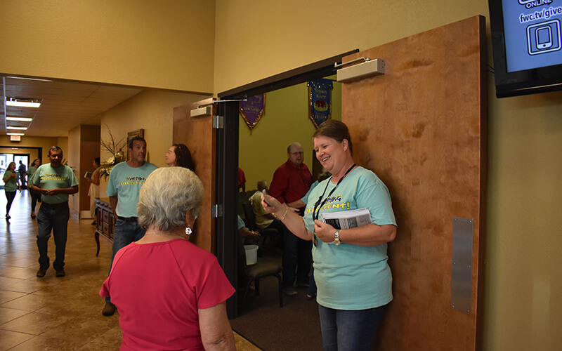 Hospitality Team-family worship center