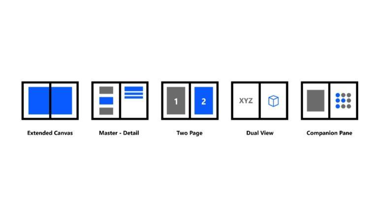 Zo wil Microsoft dualscreens met Windows 10X en Android