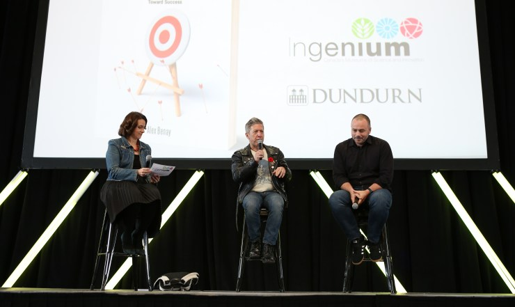 Panel on the main stage