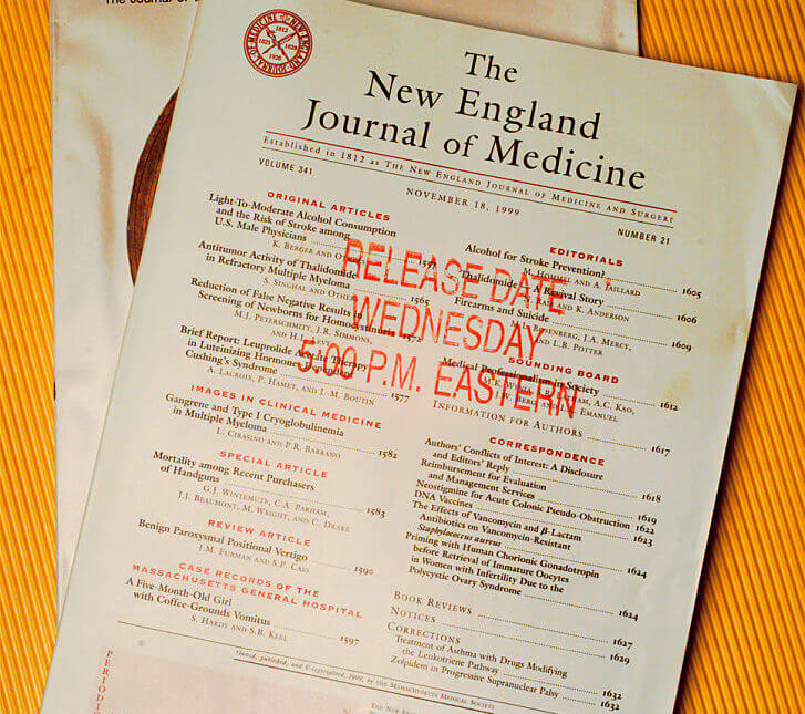 New England Journal of Medicine Just Called On America To Reject Trump For Coronavirus Failure