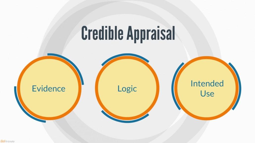 Credible appraisal