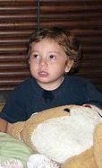 Moshe (2 years) was orphaned by terrorists in India on 26/11