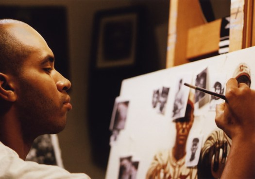 "Kadir Nelson creating work for ""We are the Ship"""