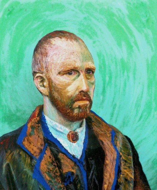 Simon Donovan preforms as Vincent VanGogh.
