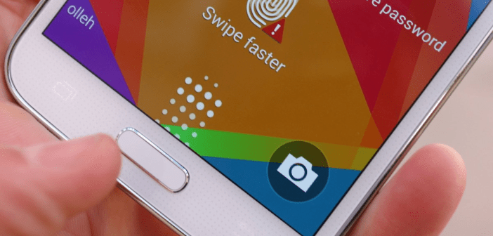 Galaxy S6 fingerprint
