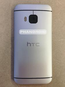 HTC One M9 rear shot