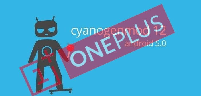CyanogenMod Android Lollipop OnePlus One