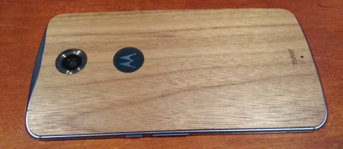 Nexus 6 Toast cover side