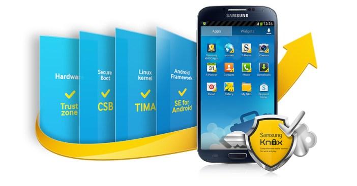 Galaxy S6 Samsung KNOX