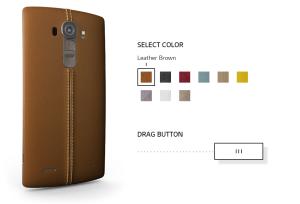 LG G4 back options