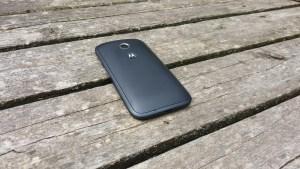 Moto E back image