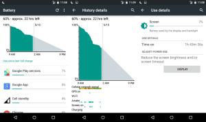 Motorola Moto E battery life
