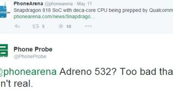 Snapdragon 818 Adreno 532