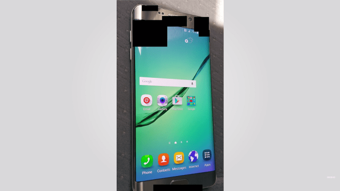 Galaxy S6 Plus leak