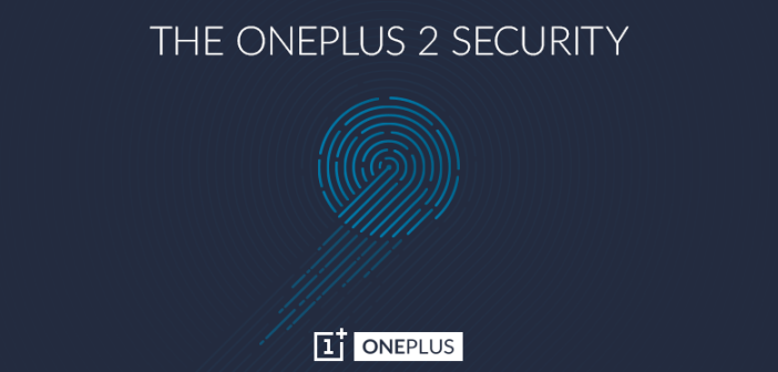 OnePlus 2 fingerprint sensor