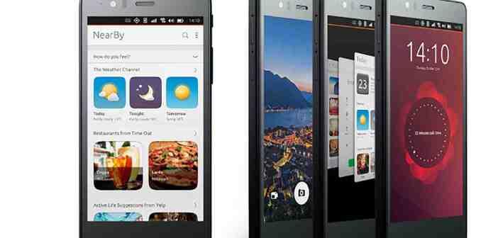 Ubuntu Phone Aquaris E5