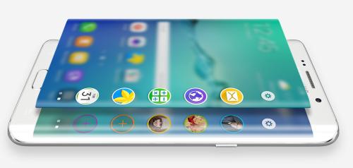 Galaxy S6 edge+ five apps